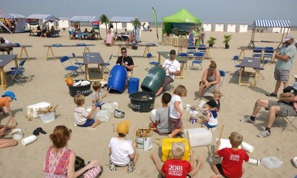 Low Q - B2 Workshop Muziek maken met afval - vrije in en uitloop